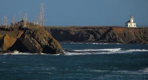 Kap Arago-Leuchtturm lizenzfreies stockfoto