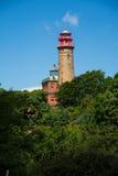 Kap ArkonaÂs ljusa torn Arkivbilder