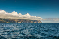 Kap Aya ist ein steiler Sporn des Haupt- Ridges des Krim-Mounta Lizenzfreie Stockfotos