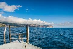 Kap Aya ist ein steiler Sporn des Haupt- Ridges des Krim-Mounta Stockfotografie