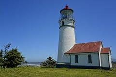 Kap Blaco-Leuchtturm, Oregon-Küste lizenzfreies stockbild