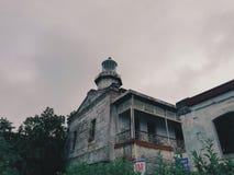 Kap Bojeador-Leuchtturm stockbilder