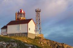 Kap Bonavista-Leuchtturm, Neufundland stockfotografie