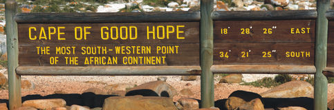 Kap der guten Hoffnung stockfotografie