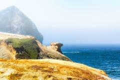 Kap Kiwanda-Ansicht des Pazifischen Ozeans Lizenzfreie Stockfotos