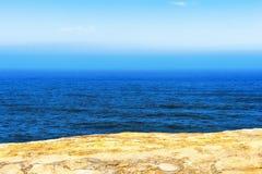 Kap Kiwanda-` s Ansicht Pazifischen Ozeans Lizenzfreie Stockfotos