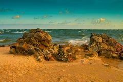 Kap Kolka, Lettland stockbilder