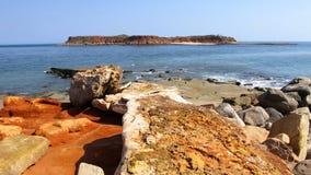 Kap Leveque nahe Broome, West-Australien stockfotos