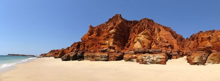 Kap Leveque nahe Broome, West-Australien Lizenzfreie Stockfotos