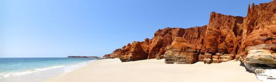 Kap Leveque nahe Broome, West-Australien Stockfotos
