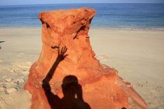 Kap Leveque nahe Broome, West-Australien Stockfoto