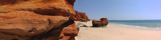Kap Leveque nahe Broome, West-Australien stockfotografie