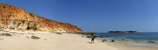 Kap Leveque nahe Broome, West-Australien lizenzfreie stockfotografie