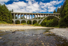 Kap-Nebenfluss-Brücke Lizenzfreie Stockfotografie