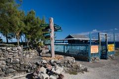 Kap North Point auf der Insel von Barbados Lizenzfreies Stockfoto