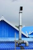 Kap op het dak Royalty-vrije Stock Foto's