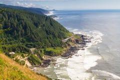 Kap Perpetua-Ausblick, Oregon Lizenzfreie Stockfotografie