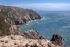 Kap Roca (Cabo DA Roca) Stockfotos