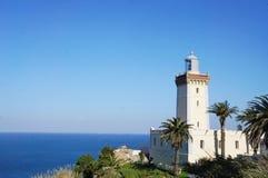 Kap Spartel von Tanger, Marokko stockbild