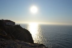 Kap-St. Vincent, Portugal Stockfotografie
