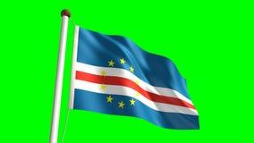Kap-Verde Flagge stock abbildung