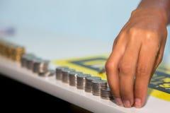 Kap-Verde Münzen 100, 50, 20, 10 stockfoto