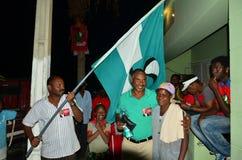 Kap-Verde Wahlkampf Stockfotos