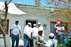 Kap-Verde Wahlkampf Lizenzfreies Stockfoto