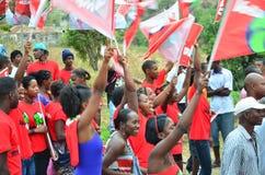 Kap Verdepolitisk kampanj Arkivbilder