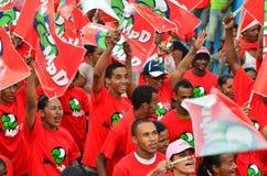 Kap Verdepolitisk kampanj Royaltyfri Bild