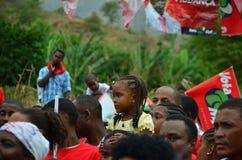 Kap Verdepolitisk kampanj Fotografering för Bildbyråer