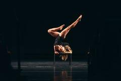Kapacitet av den moderna dansen Royaltyfri Bild