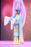 Kapacitet för kinesPingju opera i en teater royaltyfri fotografi