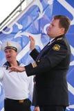 Kapaciteten av dansare, kör och solister av helheten av sången och dans av Black Sea den sjö- flottan (Sevastopol, Krim Royaltyfria Bilder