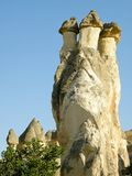 Kapadocia stone monuments in Turkey Stock Images