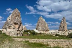 Kapadokia Anatoly Turkey stock afbeeldingen