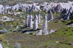Kapadokia Anatoly Turkey royalty-vrije stock fotografie