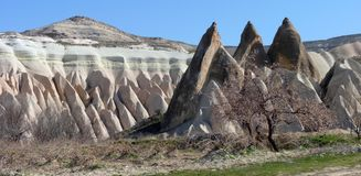 Kapadokya Capadoccia architecture Royalty Free Stock Images
