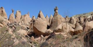 Kapadokya Capadoccia geography and architecture Royalty Free Stock Images
