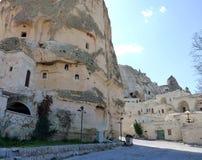 Kapadokya Capadoccia geography and architecture Royalty Free Stock Photography