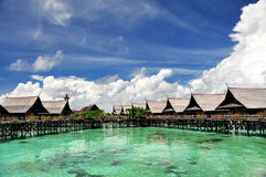 Kapalai, Sabah Lizenzfreie Stockfotografie