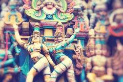 Kapaleeshwar świątynia, ważny Hinduskiej świątyni kompleks w Chennai, tamil nadu, India fotografia royalty free