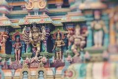 Kapaleeshwar świątynia, ważny Hinduskiej świątyni kompleks w Chennai, tamil nadu, India zdjęcia royalty free