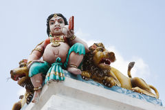 Kapaleeshwarar temple in Chennai Stock Images