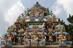 Kapaleeswarar temple in Chennai. Tamil Nadu province, India stock photography