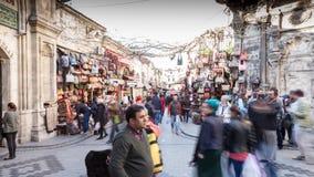 Kapalicarsi a Costantinopoli stock footage