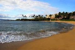 Kapalua Beach Maui Hawaii stock image
