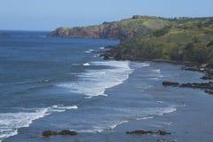 Kapalua coast line. The Kapalua coast line on the island of Maui, Hawaii Royalty Free Stock Image