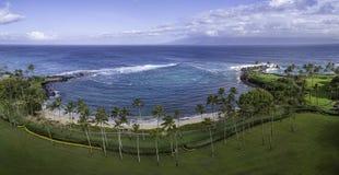 Kapalua zatoka Maui Hawaje fotografia royalty free