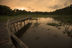 Kapawi Ecolodge in South East Ecuador Stock Photography